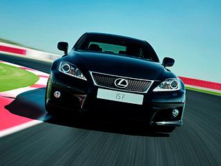 Lexus is-f. Входе фейслифтингаISF получил новую головную оптику сосветодиодной полоской, как иобычныйIS.