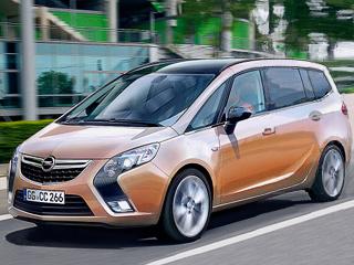 Opel zafira. Новая Zafira должна поступить впродажу кконцу осени 2011года. Ожидается, что базовая модель будет стоить вЕвропе менее 20тысяч евро, тоесть дешевле нынешнего поколения.