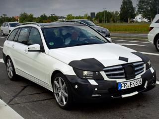 Mercedes c amg. Наближайшем мотор-шоу вЖеневе немцы покажут нетолько обновлённые седаны иуниверсалы C-класса, ноиодноимённое купе.