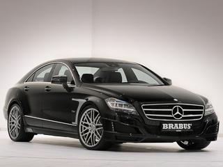 Mercedes cls. Машина, оборудованная 313-сильным двигателем, ускоряется снуля досотни за5,9с (без апгрейда— за6,2). Максимальная скорость всё также ограничена науровне 250км/ч.
