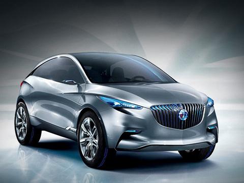 Buick envision. Несмотря наобилие азиатских штрихов вовнешности концепта Envision, ему всёже достались фамильные черты автомобилей фирмы Buick.