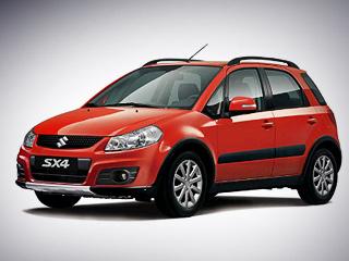 Suzuki sx4. Новую спецверсию паркетника SuzukiSX4 можно будет отличить нетолько поналичию навигации, есть изменения иснаружи. Набоковых зеркалах заднего вида появились повторители поворотников. Помимо этого, автомобиль обули воригинальные 16-дюймовые колёсные диски.