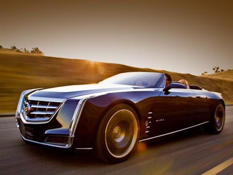 Cadillac ciel,Cadillac concept. Специально для концепта колористы Кадиллака смешали аристократичный цвет Cabernet, вдохновлённый оттенками играющего в лучах солнца бокала красного вина.
