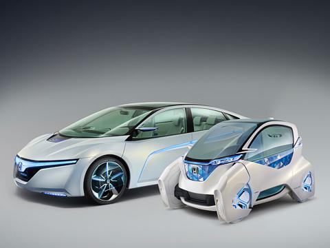 Honda ac-x,Honda micro commuter,Honda concept. Эта парочка пока нереальность, азадел набудущее. Приятно, что, судя поэтим концептам, оно унас достаточно симпатичное.