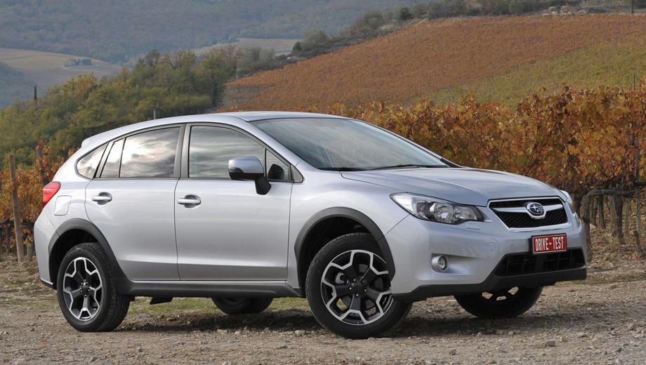 Subaru xv. Кроссоверы XV придут в Россию в марте 2012 года. Поговаривают, что стартовая цена не превысит 950 тысяч рублей. Например, в Германии автомобиль стоит от 21 600 до 33 090 евро.