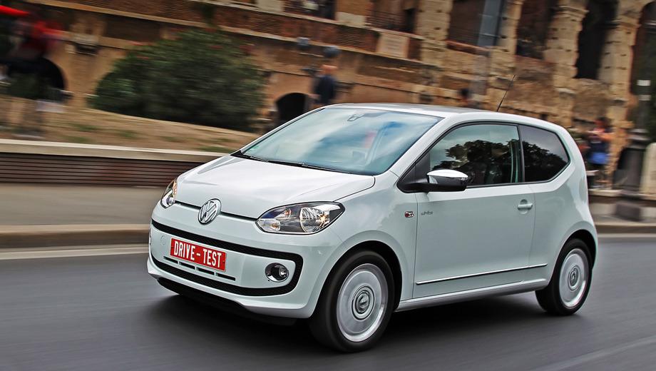 Volkswagen up,Volkswagen up_dt. Один двигатель в двух версиях, одна коробка передач с ручным или автоматическим управлением, простенькая подвеска... Главное в Апе — возможность забиться вчетвером в коробку с хромированной монограммой VW. И не выбрать из восьми цветов кузова чёрный.