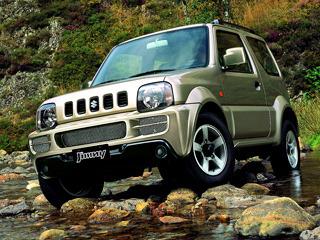 Suzuki jimny. Нынешнее поколение внедорожника Suzuki Jimny выпускается с 1998 года. А вообще на конвейере модель стоит на протяжении 40 лет. Уже довольно устаревший полноприводник сейчас продаётся только на рынках России, Австралии, Бразилии, Южной Африки и Японии.