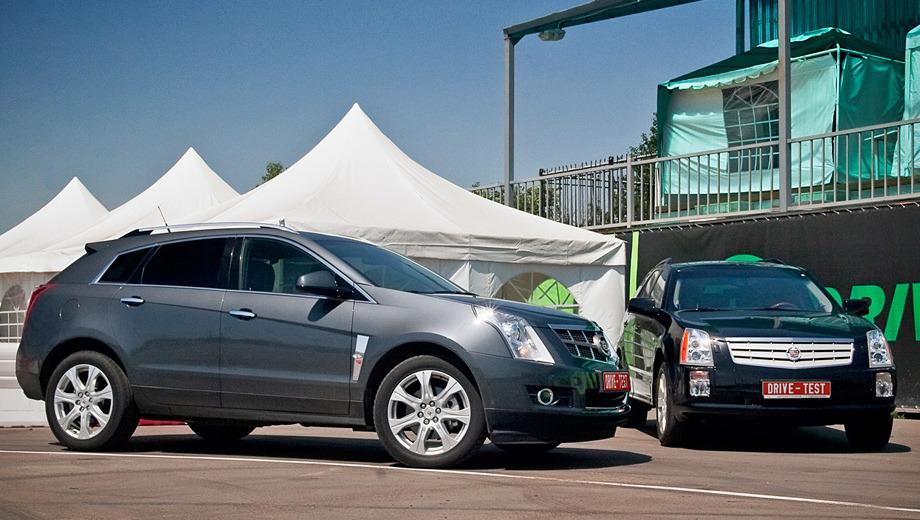 Cadillac srx. Новый SRX эффектен, он безоговорочно красивее предшественника, но и дороже него на 260 тысяч рублей.
