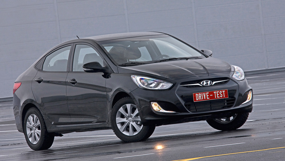Седлаем только что собранный седан Hyundai Solaris