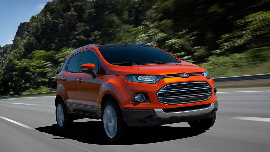 Ford ecosport. Пока компактный кроссовер фордовцы представили в обличье прототипа, однако, несмотря на несколько футуристичных деталей, вообразить, каким будет серийный образец, нетрудно.