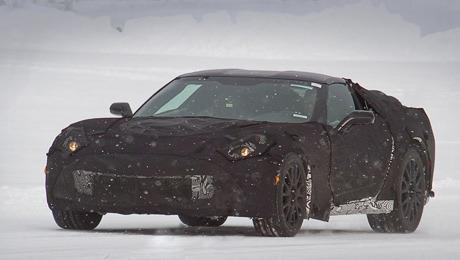 Chevrolet corvette. Мотор V8 5.5 нового Корвета будет развивать 440 сил.  Двигатель V8 6.2 на машине нынешней генерации выдаёт 430 «лошадей».