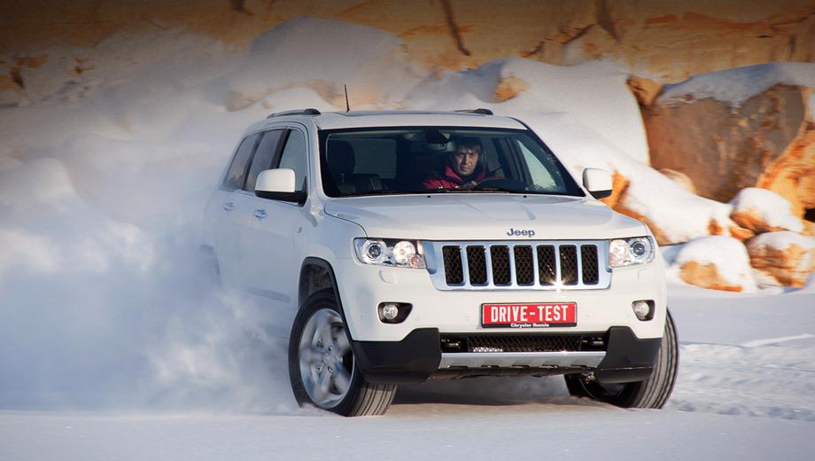 Jeep grand cherokee,Jeep grand cherokee_dt. Сидя на высоте полутора метров над землёй, водитель Grand Cherokee пребывает в мире собственных иллюзий. Можно заплывать за буйки! Не так уж далеко от истины.