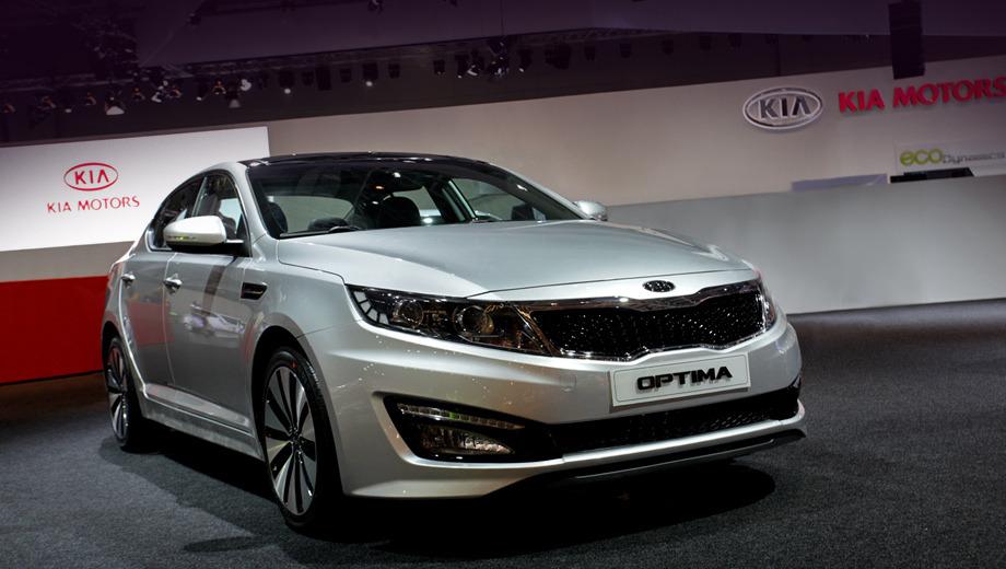 Kia optima. Четырёхдверка Kia Optima пользуется отменным спросом (особенно на рынках Южной Кореи и США) — за 2011 год по всему миру реализовано 228 832 седана.