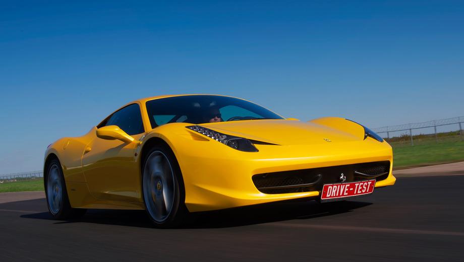 Ferrari 458 italia,Ferrari 458_dt. По иронии судьбы купе с патетическим именем Italia стало первым «немецким» автомобилем Ferrari за всю историю.