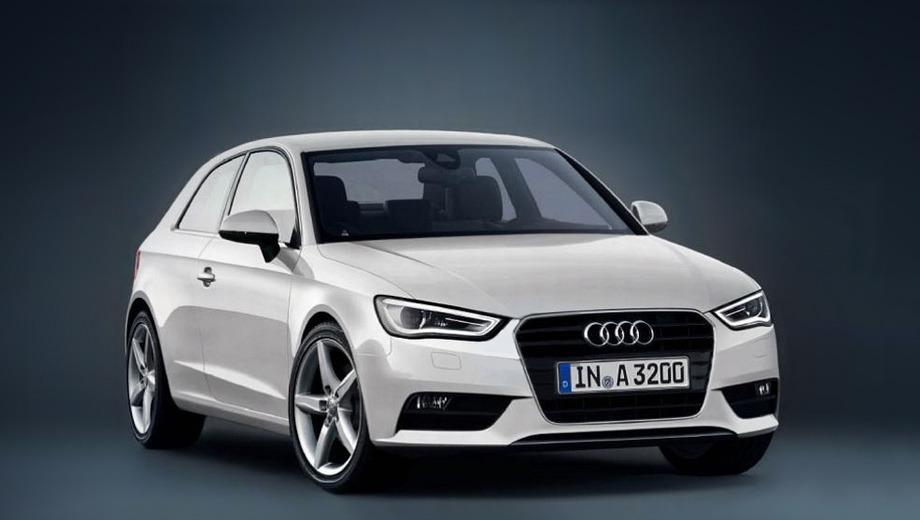 Audi a3. Пока это единственная фотография очередного поколения Audi A3. При этом немцы пока официально не подтвердили факта того, что она реальная. Однако сомнений в этом практически нет.