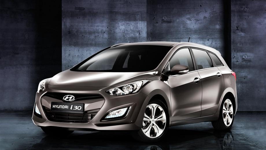 Hyundai i30,Hyundai i30 estate wagon. Продажи хэтчбеков Hyundai i30 в Европе уже начались, а одноимённый универсал появится ближе к лету. В Великобритании за обычную пятидверку просят 14 495 фунтов стерлингов (17 133 евро), а за грузопассажирскую версию, предположительно, потребуют около 16 тысяч фунтов (18 912 евро).