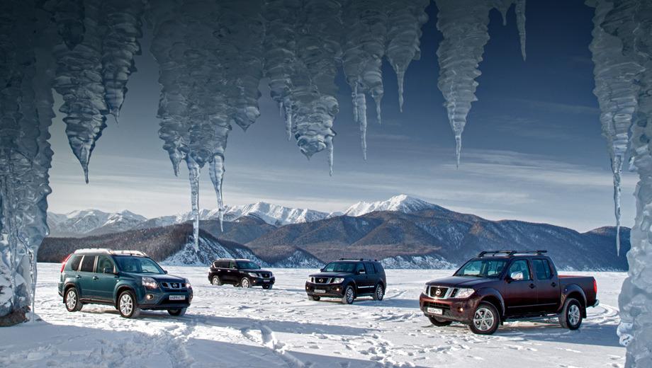 Nissan murano,Nissan navara,Nissan qashqai,Nissan juke. Выезд на лёд Байкала — лишь с разрешения соответствующей инстанции! И дело не только в экологии. Поверхность озера промерзает неравномерно, и вероятность уйти на дно тем выше, чем ты дальше от берега.