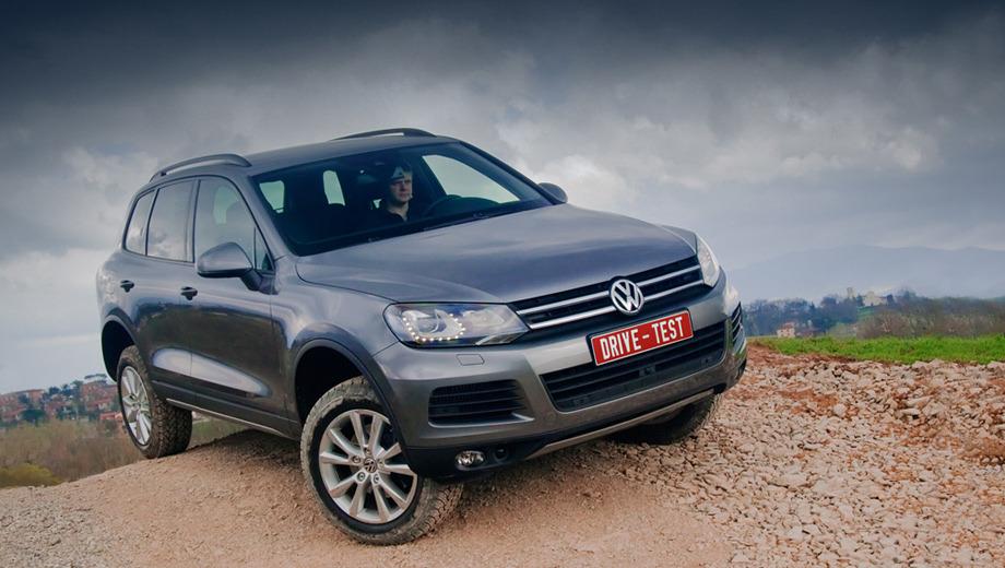 Volkswagen touareg. Оставшись в душе многоборцем, экс-внедорожник Touareg больше не полезет в грязь без специального инвентаря.