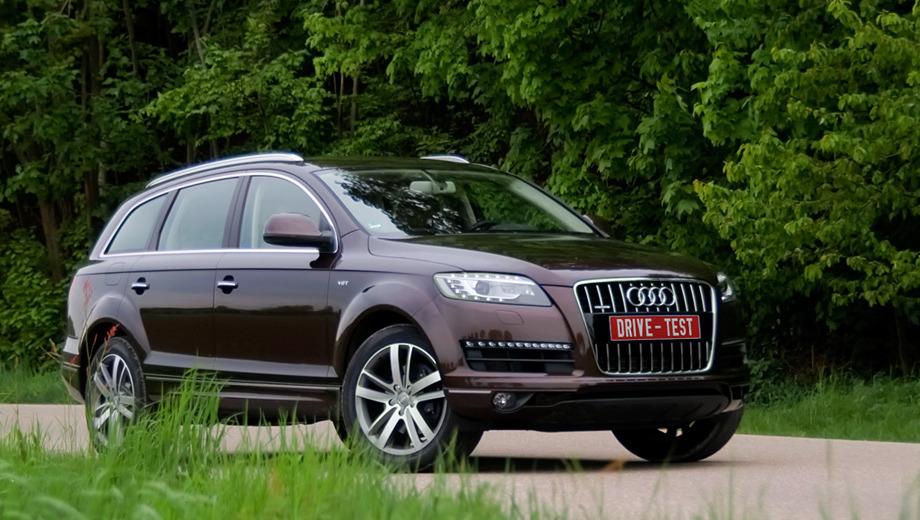 Audi q7-sd,Audi q7. Модернизацию Audi Q7 разбили на два этапа — фейслифтинг в прошлом году и технический апгрейд в нынешнем. Хватит ли ещё на три года борьбы?