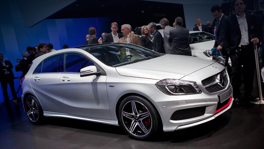Mercedes a. Европейские дилеры получат первые клиентские машины в сентябре 2012 года, а россияне — в 2013 году. В продаже будет три исполнения — Urban, Style и AMG Sport (на фото).