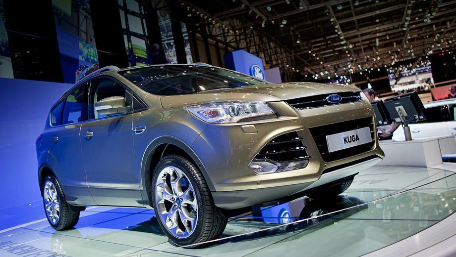Ford kuga. В Старом Свете Kuga будет как переднеприводной, так и полноприводной. По словам специалистов Форда, электромагнитная муфта в приводе задних колёс работает ещё быстрее.
