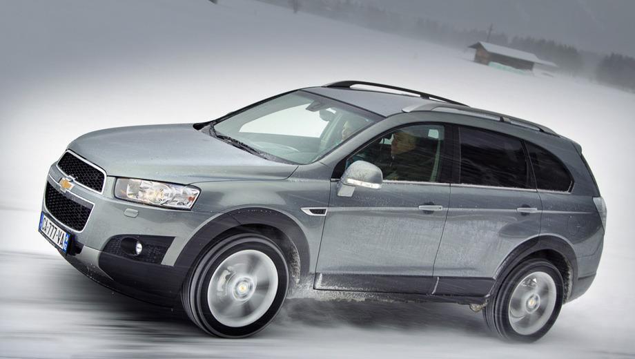 Chevrolet captiva. Все изменения рестайлингового автомобиля, так сказать, налицо. Анфас кроссовер поменялся больше всего.