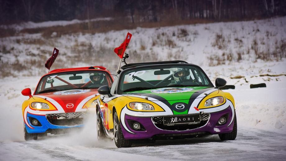 Mazda mx-5. Наш поединок с авторевюшником Мельниковым на последних кругах добавил журналистскому состязанию профессионального накала.