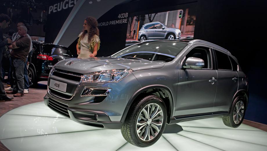 Peugeot 4008. Российские дилеры начнут приём заказов на новинку с 9 апреля этого года. Наш рынок — один из первых, где начинается реализация кроссовера.