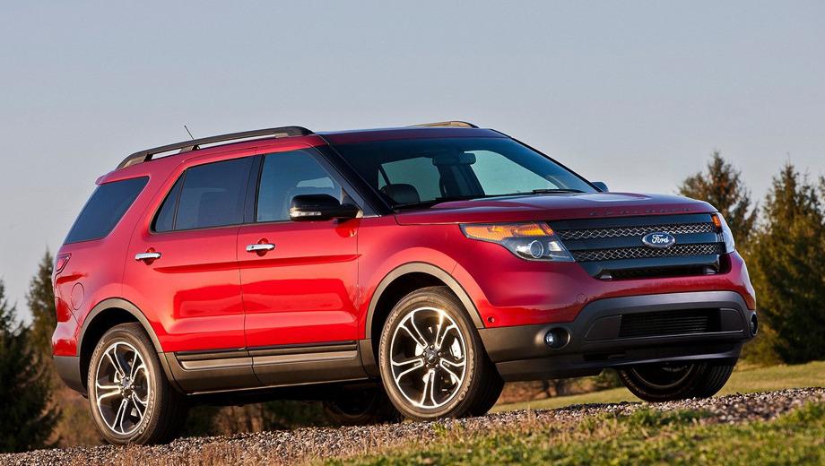 Ford explorer. Модель Ford Explorer Sport, производством которой займётся завод в Чикаго, комплектуется алюминиевыми дисками с шинами размерностью 255/50 R20.