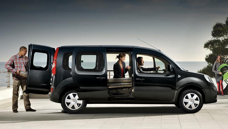 Renault kangoo,Renault grand kangoo. Сборка автомобиля будет налажена на том же заводе во Франции, на котором выпускается и пятиместная версия.