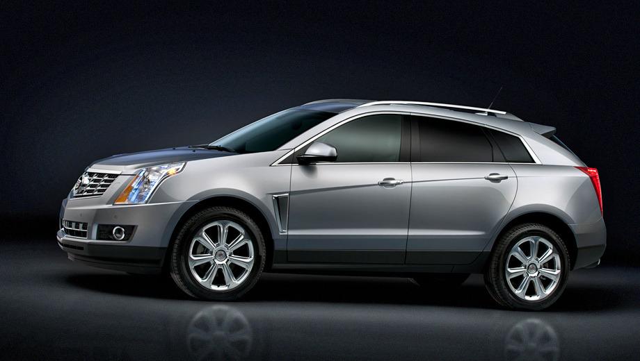 Cadillac srx. Уже второй раз подряд в компании Cadillac принимают решение практически ничего не менять во внешности кроссовера, даже несмотря на заявленный рестайлинг.
