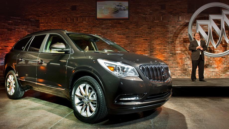 Buick enclave. В 2011 году было продано почти 60 тысяч кроссоверов Buick Enclave. Рестайлинговые машины привлекут наверняка ещё больше внимания.