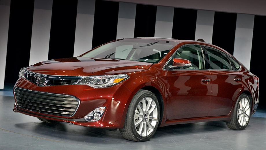 Toyota avalon. Проект автомобиля был разработан калифорнийской дизайн-студией компании Toyota.