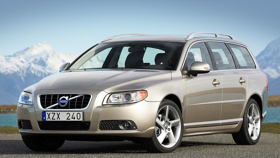 Volvo s60,Volvo xc60,Volvo v60,Volvo v70,Volvo s80. Универсал Volvo V70 получит новую решётку радиатора с глянцевыми чёрными деталями.