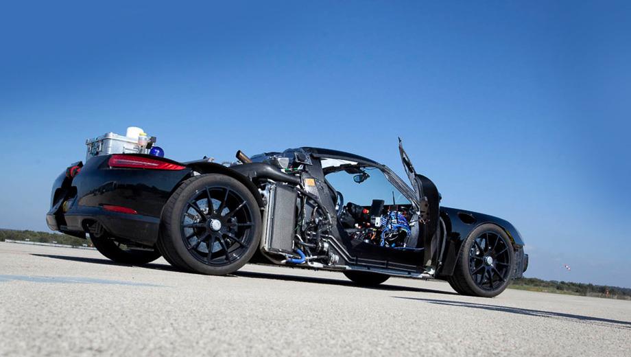 Porsche 918. Не так давно на полигоне Nardo проходил обкатку новый суперкар Porsche 918 Spyder.