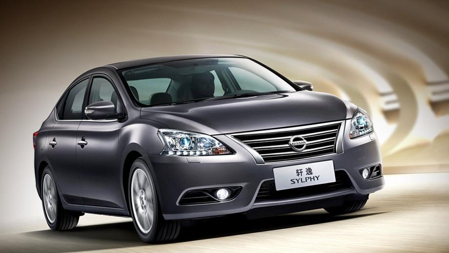 Nissan sylphy. Светодиодная «подводка» фар и светодиодные задние фонари, пониженная высота кузова и волнистая выштамповка на боковине — всё это подчинено заявленной цели: сделать Силфи визуально современнее, динамичнее и дороже предшественника.