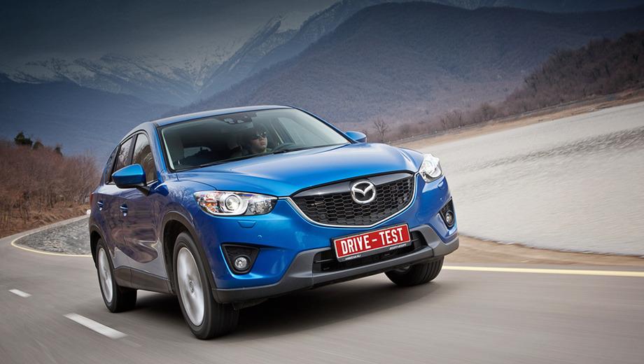 Mazda cx-5. Новому кроссоверу сложно дать однозначную оценку. По характеру это скорее уменьшенный CX-9, нежели приподнятая Mazda3.