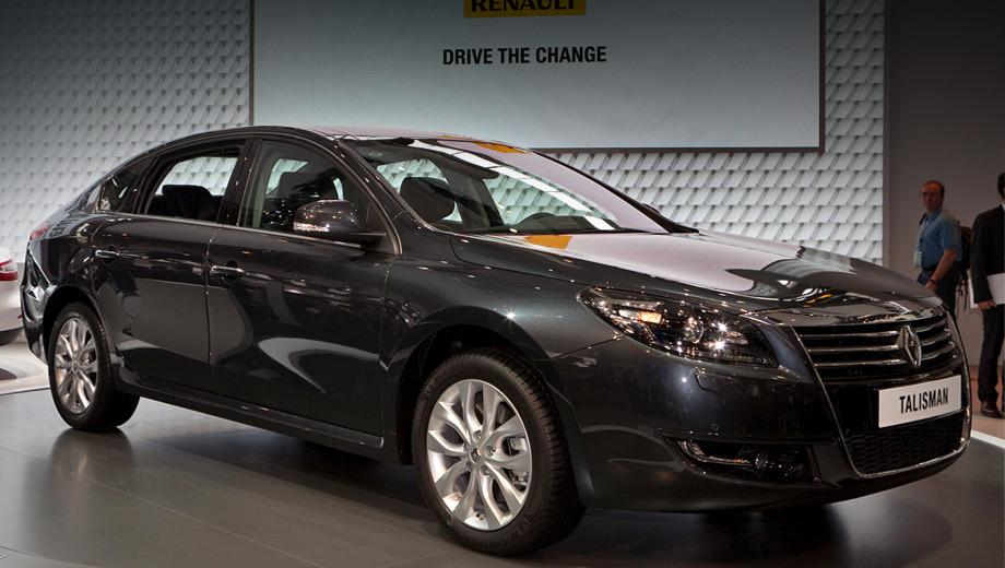 Renault talisman. Габаритные размеры новинки — 4,99 м в длину, 1,86 в ширину и 1,49 в высоту.