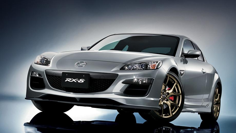 Mazda rx-8. Четырёхдверное купе Mazda RX-8 продержалось на конвейере почти 10 лет. За это время было выпущено 192 094 автомобиля.