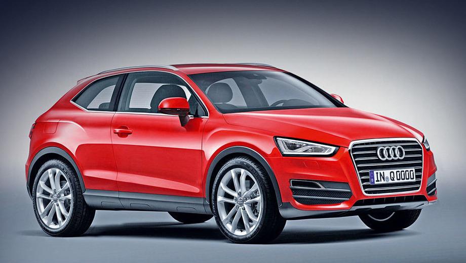 Audi q2. Концепт-кар, который превратится в Audi Q2, покажут в ближайшие 12 месяцев. Серийный автомобиль будет строго четырёхместным, с тремя или пятью дверями.