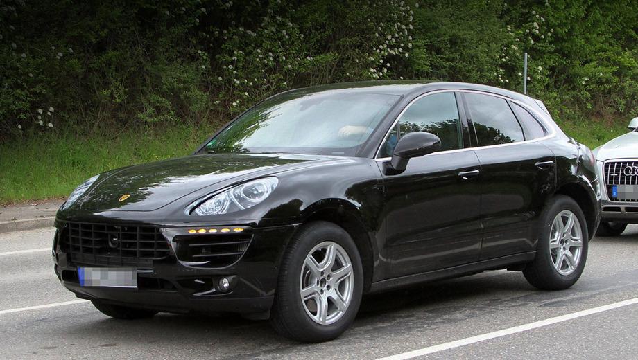 Porsche macan. Многое во внешности Macan унаследует от старшей модели — Porsche Cayenne.