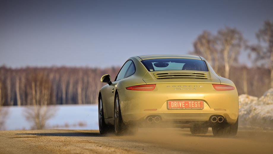 Porsche 911. Porsche одинаково хорошо чувствует себя и в городе, и за городом, и на треке. Нет другого такого универсального автомобиля. Преимущество произошедших с машиной перемен оценят те, кто собирается проводить за рулём много времени.
