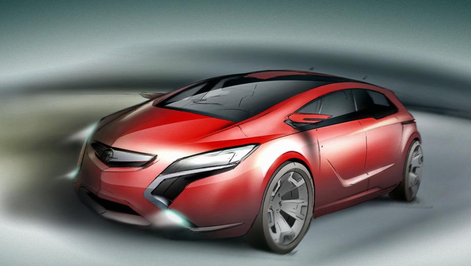 Opel zafira. Ожидается, что новое поколение Зафиры, построенное на французской «тележке», увидит свет не раньше 2016 года.