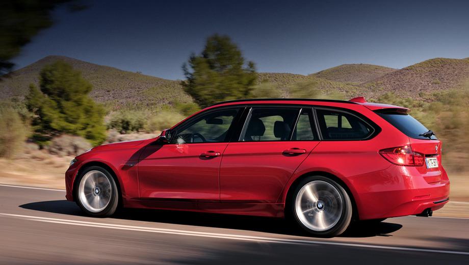Bmw 3. Версия BMW 330d (258 л.с.) тратит на разгон до сотни 5,6 с, а BMW 328i (245) — ровно 6 секунд. Максимальная скорость у обеих модификаций — 250 км/ч, а расход топлива в смешанном цикле — 5,1 и 6,8 л на 100 км соответственно.