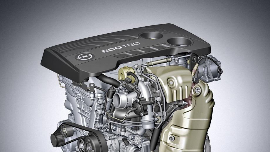 Opel astra. Этот 1,6-литровый двигатель сохранил давно известное обозначение ECOTEC, украшающее множество опелевских моторов, но к нему ещё добавлена приставка SIDI (spark ignition direct injection), хотя перед нами вовсе не первый опелевский агрегат с непосредственным впрыском бензина.