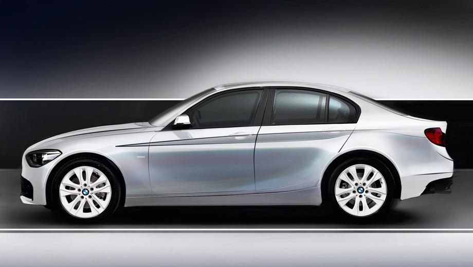 Bmw 1,Bmw 1 sedan. Официальных изображений новинки пока нет. Перед вами рендер, подготовленный коллегами из издания Autocar.