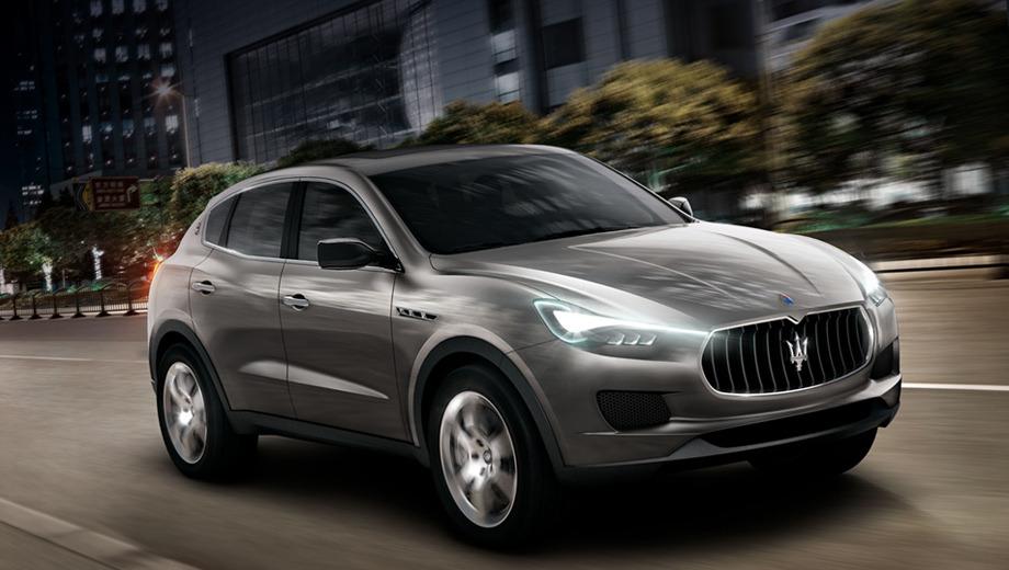Maserati kubang. Внедорожник Maserati Kubang, имя которого ещё могут поменять, должен поступить в автосалоны в 2014 году. На шлифовку облика машины есть время, но отправная точка известна — это показанный здесь концепт.