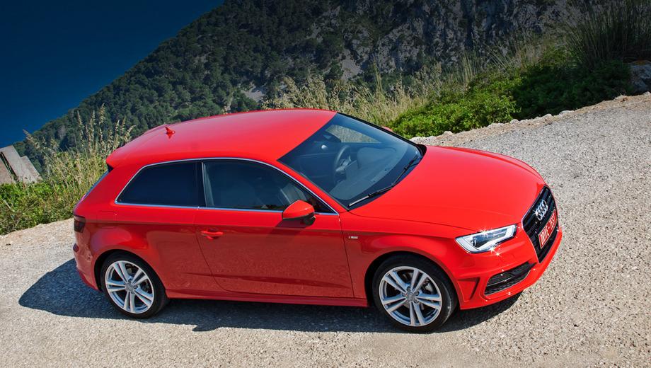 Audi a3. В Германии Audi A3 уже продаётся по ценам от 22 300 до 31 600 евро. В России же цены объявят не раньше второй половины лета 2012-го, а то и на Московском автосалоне, что стартует 31 августа.