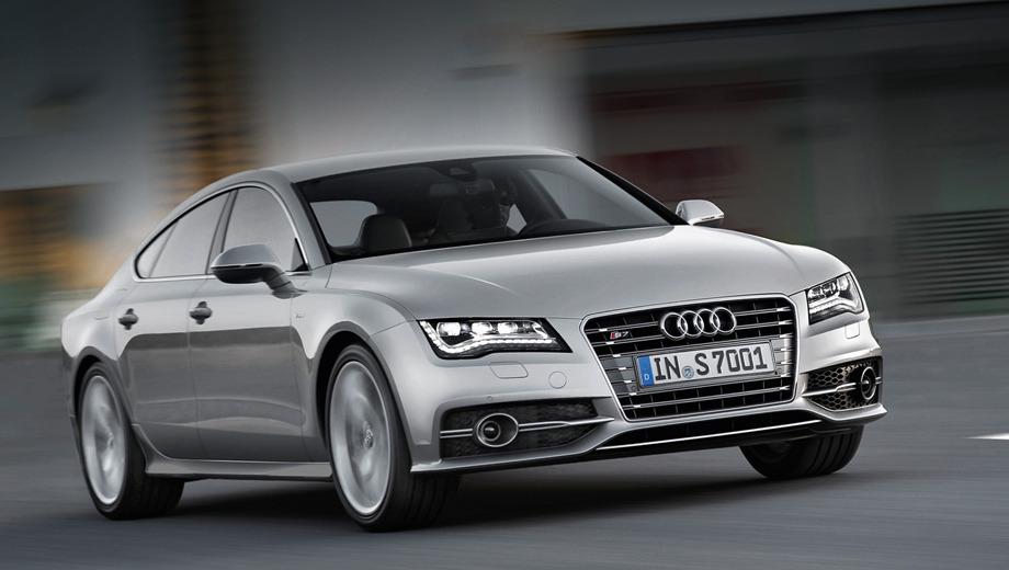 Audi s6,Audi s7. Все «эски» оснащены полным приводом.