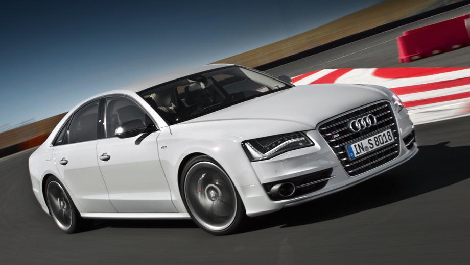 Audi s8. Двигатель, который находится под капотом седана Audi S8, агрегатируется с безальтернативным восьмидиапазонным «автоматом».